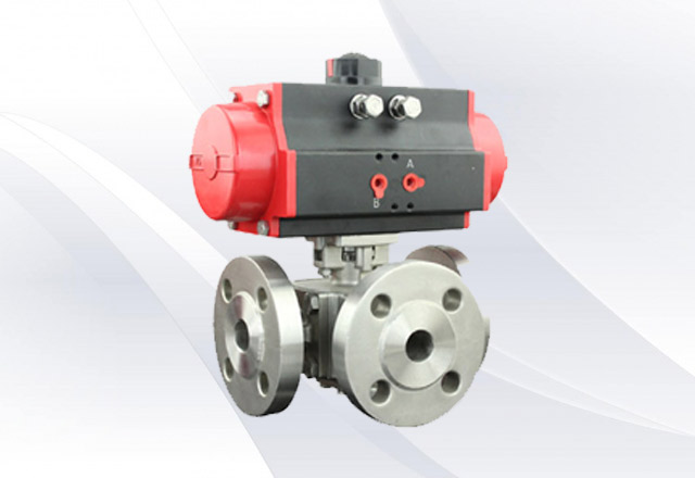 3-way-ball-valve-flanged-ends